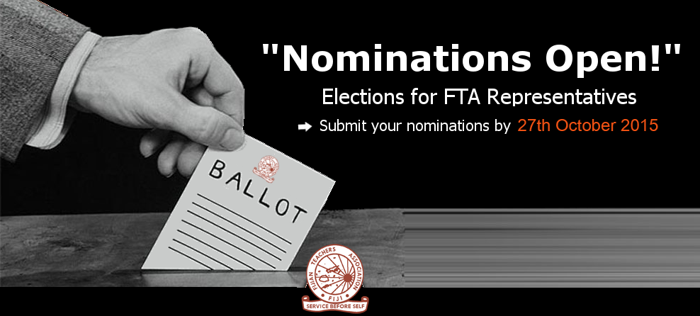 Nominations for FTA Open
